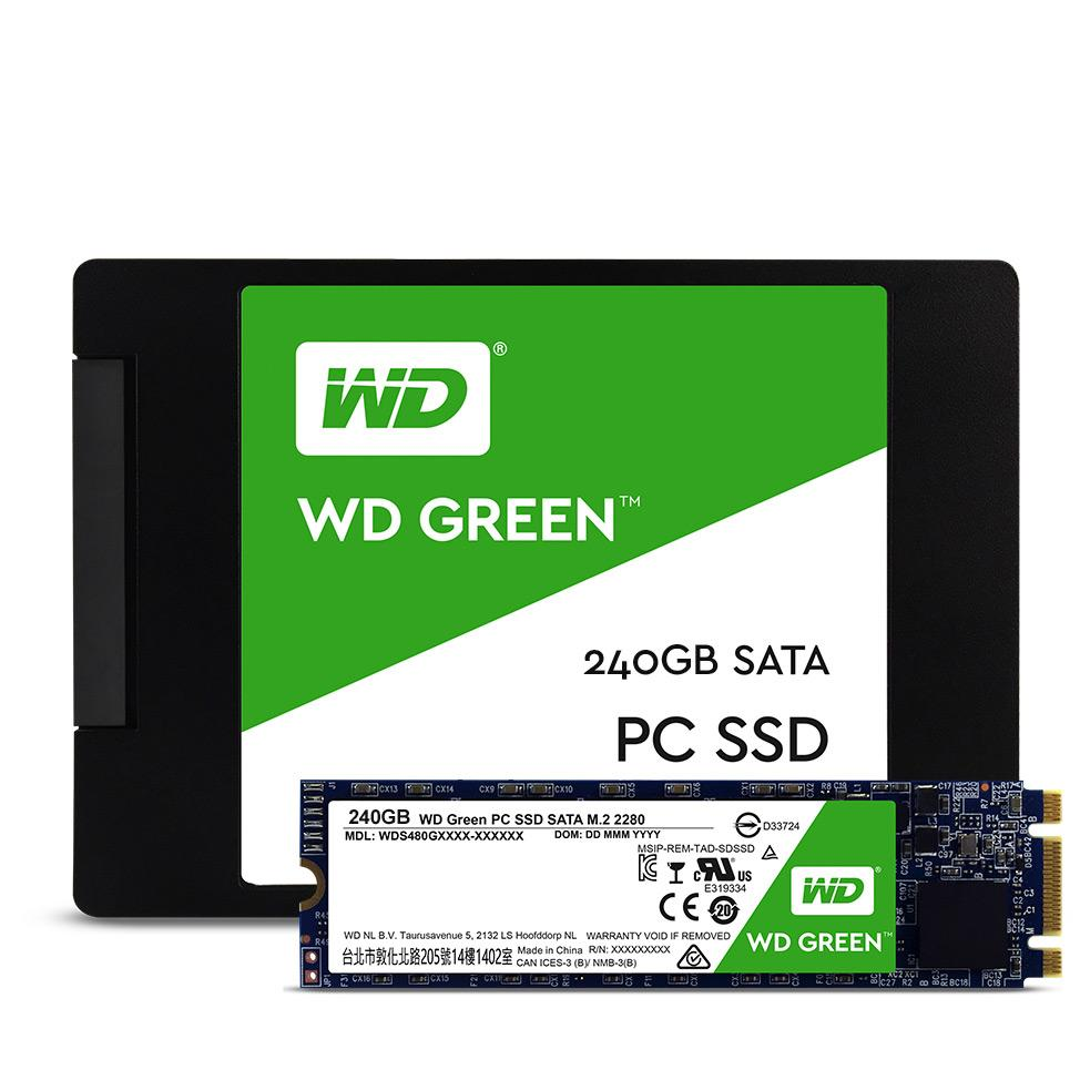 WDS120G2G0B - WD Green 120GB m.2 Solid State Drive