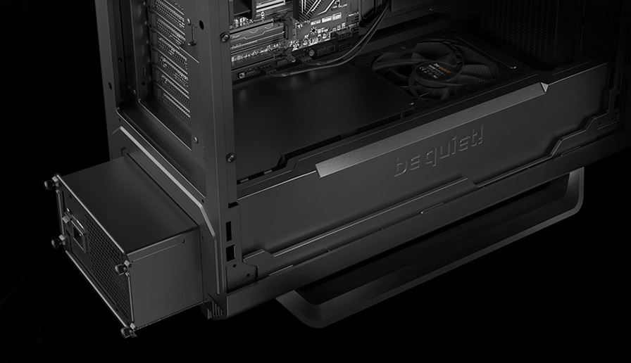 BeQuiet! SILENT BASE 801 Black E-ATX Mid-Tower Chassis