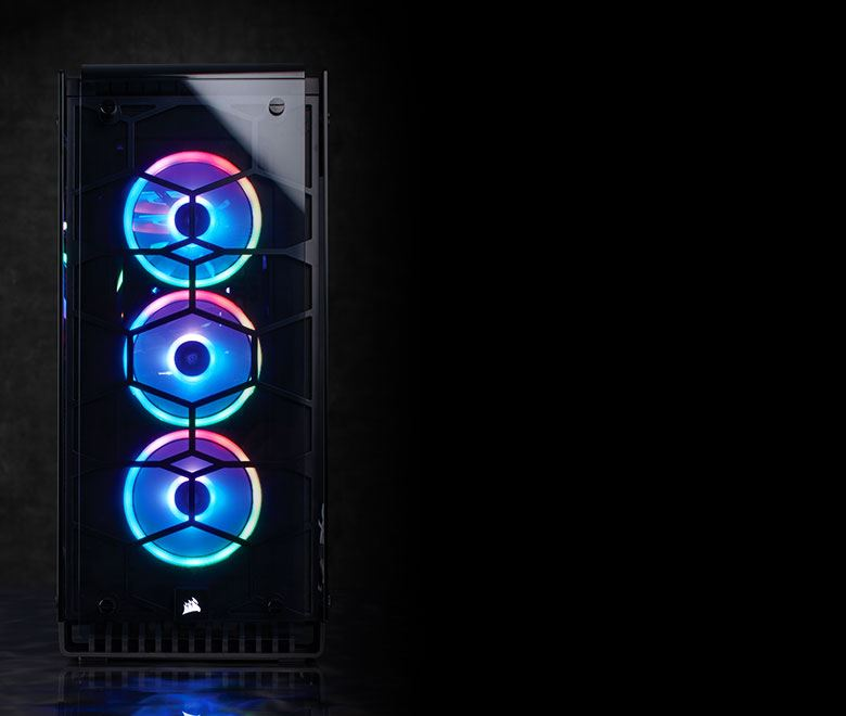 Corsair LL120 RGB 120mm Dual Light Loop RGB LED Single Fan - CO-9050071-WW