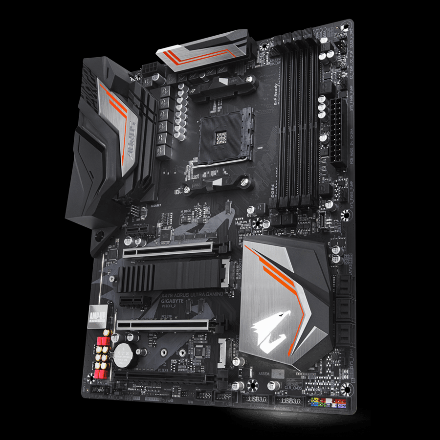 Gigabyte X470 Aorus Ultra Gaming AMD X470 AM4 ATX Motherboard