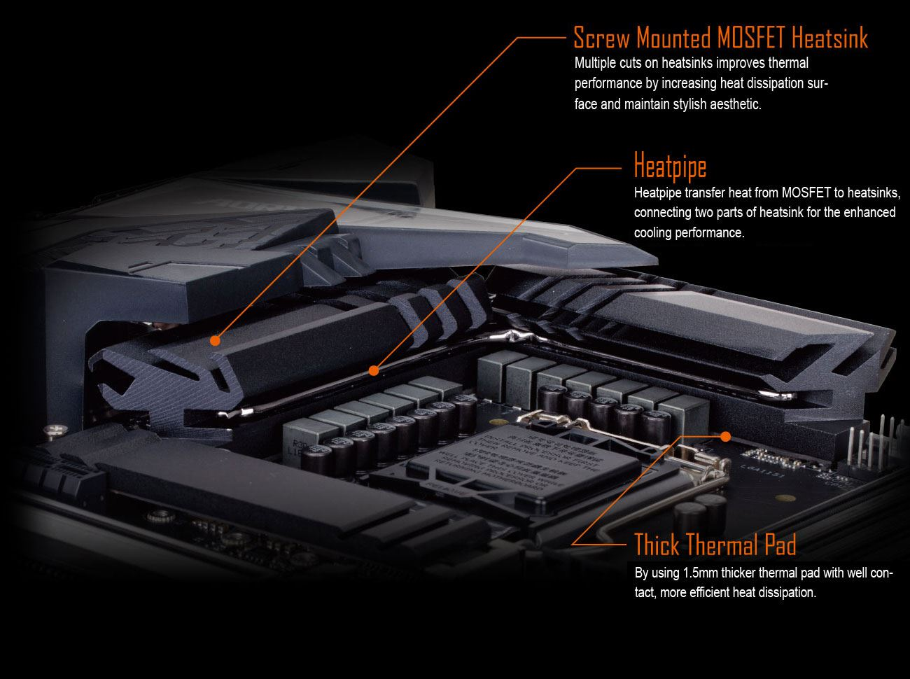 Gigabyte Z390 Aorus Pro Wifi Lga 1151 Chipset Atx Motherboard Reverse Camera Wiring Overclockers Uk Forums By Combining 2 Heatsinks With Heatpipe Thick Thermal Pad Providing Ultimate Mosfet Cooling Performance For Enthusiasts And Gamers