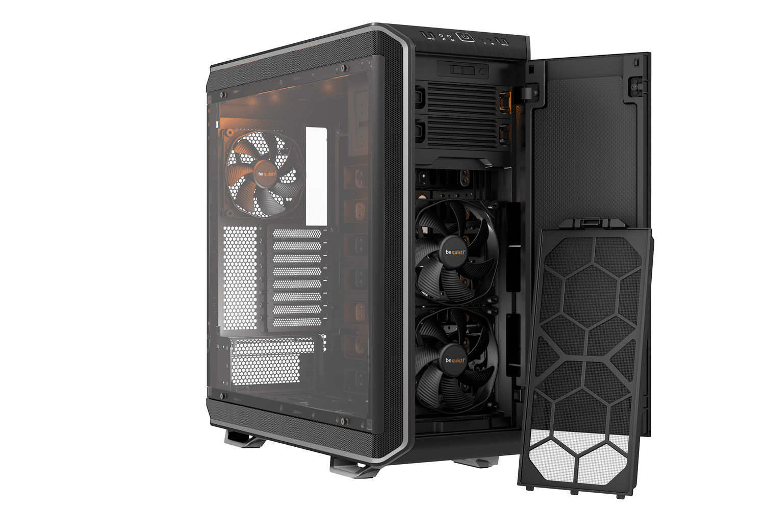 Be Quiet Dark Base Pro 900 Silver Xl Atx Full Tower