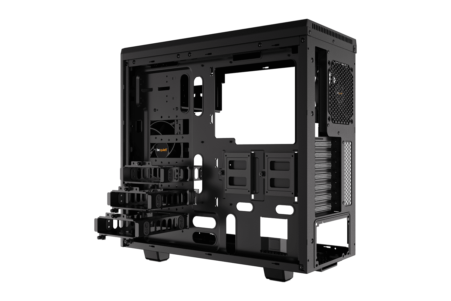 Bequiet Pure Base 600 Black Atx Case Novatech
