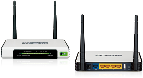 TP-Link TL-MR3420 Mobile 3G / 4G Wireless-N Router | Novatech